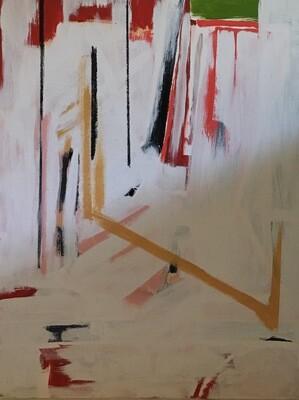 oil on canvas 40 x 30
