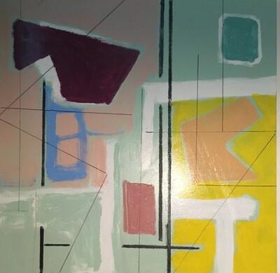 Oil on canvas 36 x 36