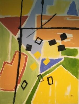 Oil on Canvas 36 x 48