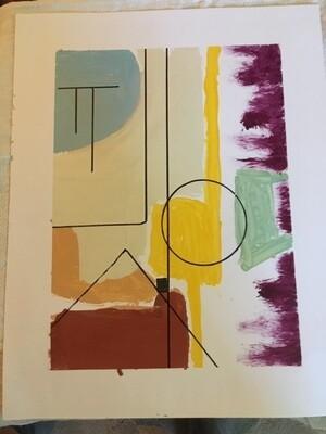 Oil onpaper 11 x 14