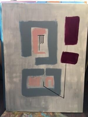 Oil on canvas 38 x 48