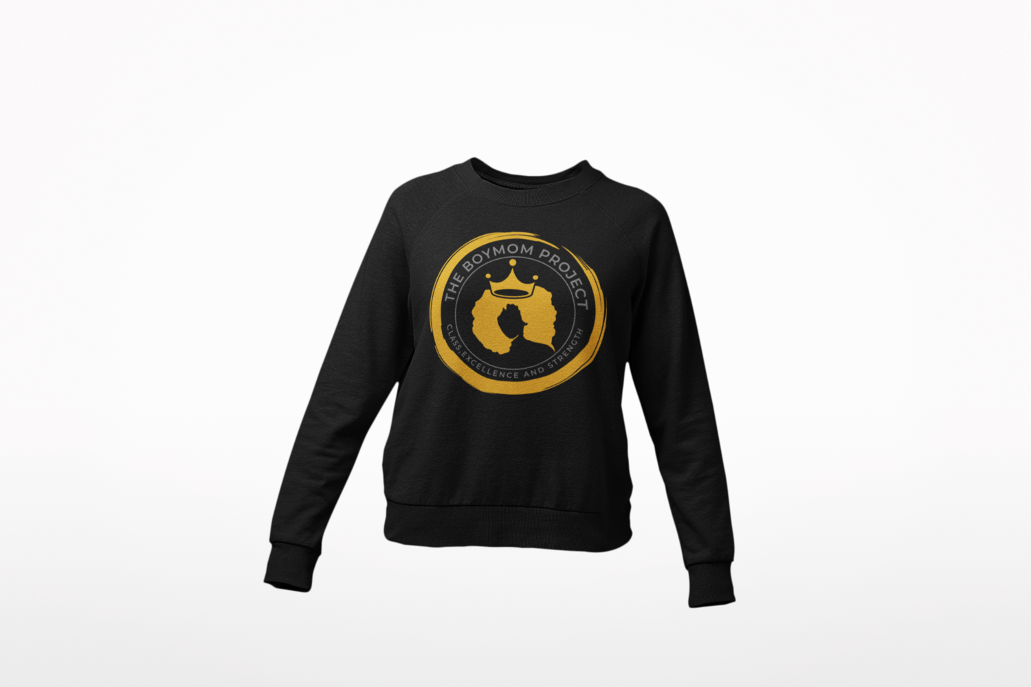 The BOYMOM Project sweatshirt
