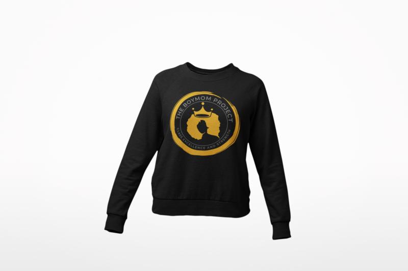 The BOYMOM Project sweatshirt