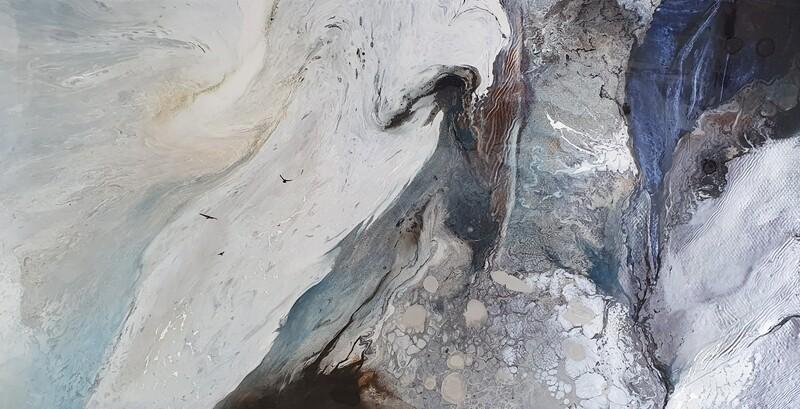 Kayden Bailey - 'The Flight Path' 160 cm w x 80 cm h