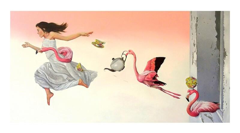 Tara Spicer - 'Earl Grey with a Dash of Flamingo'