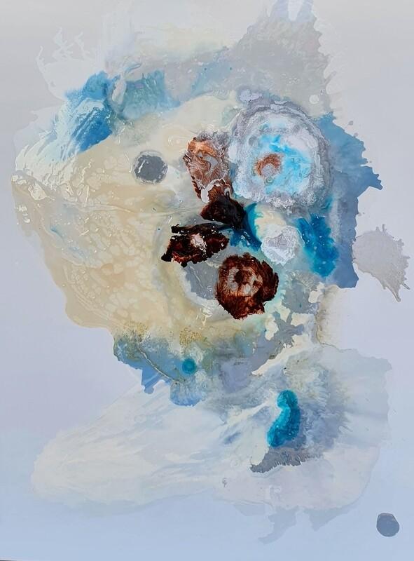 Kayden Bailey - 'Simple Tones' - 92 cm w x 122 cm h