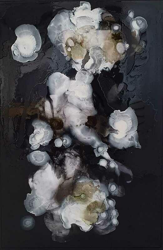 Kayden Bailey - 'Tempting Fate (1)' - 60 cm w x 190 cm h framed