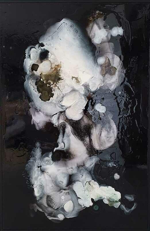 Kayden Bailey - 'Tempting Fate (No.2)' - 60 cm w x 190 cm h framed