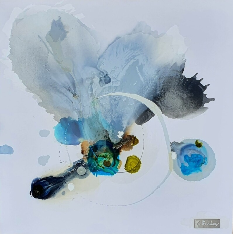 Kayden Bailey - 'Shadows That Form' - 92 cm w x 92 cm h