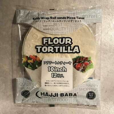 "Flour Tortilla ""Chapati"" 10inch"