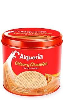 Obleas con Arequipe
