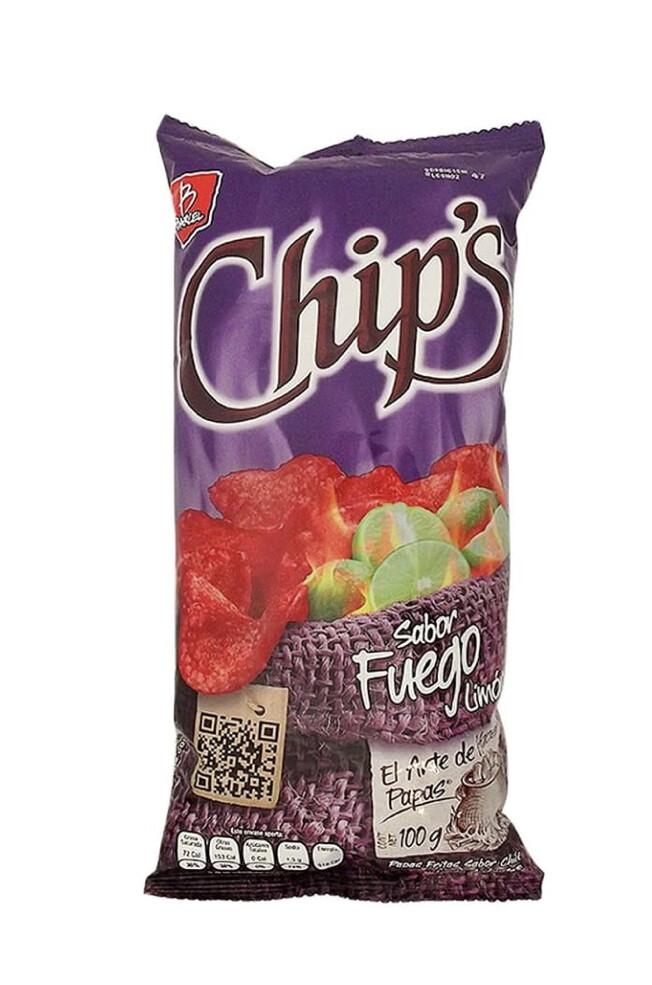 Chips Fuego 100gr