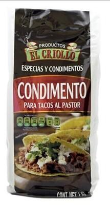 Condimentos Tacos al Pastor