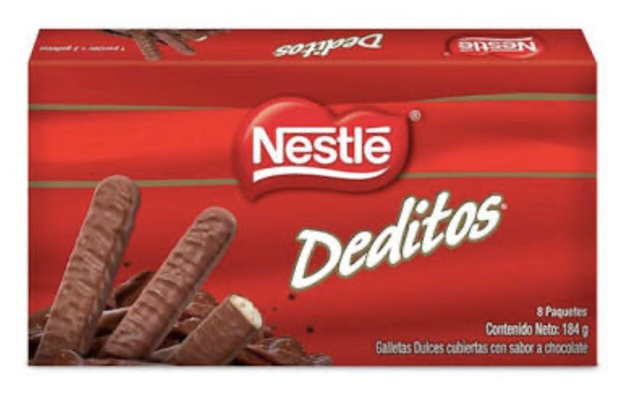 Galletas Dulces Nestlé Deditos sabor a Chocolate x 184 g.
