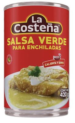 Salsa Verde La Costeña para Enchiladas 420 g