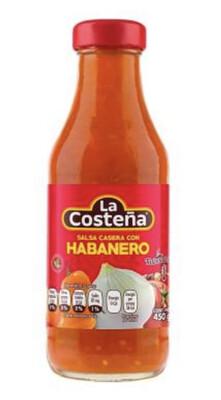 Salsa Casera La Costeña con Habanero 450 g