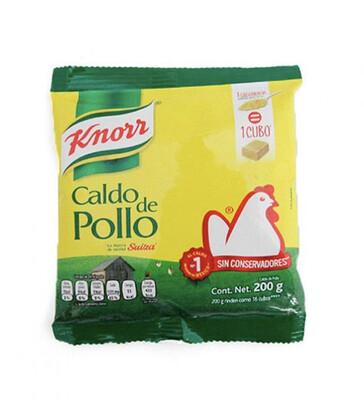 Caldo de Pollo Knorr Suiza Bolsa 200 Gr