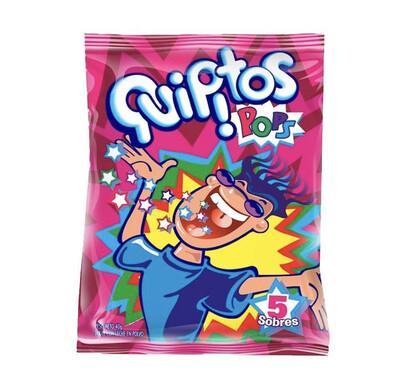 Quipitos pops bolsa x 5 unidades x 40 g