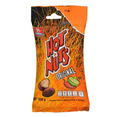 Cacahuates Barcel Hot Nuts original 100 g