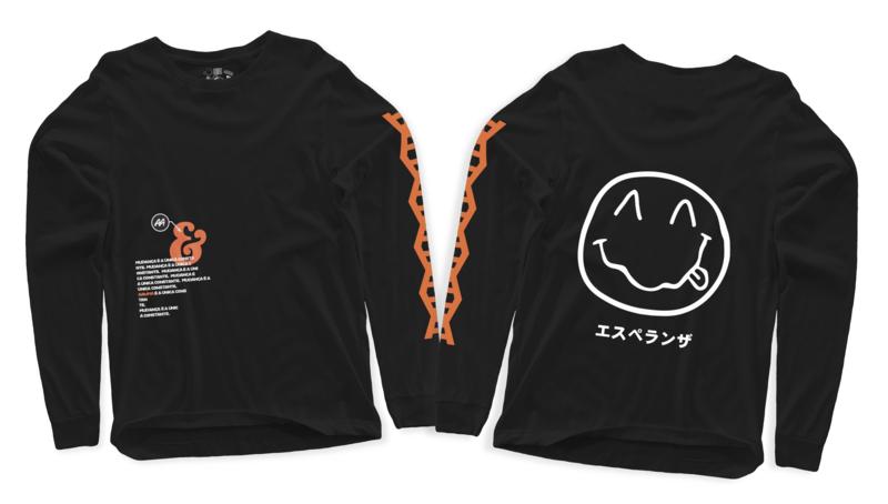 Camiseta Quando o Design Encontra o Existencialismo -  30%OFF - De R$79,90 por:
