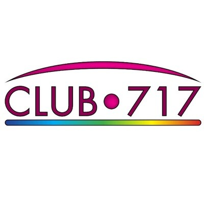 Club 717 Sticker