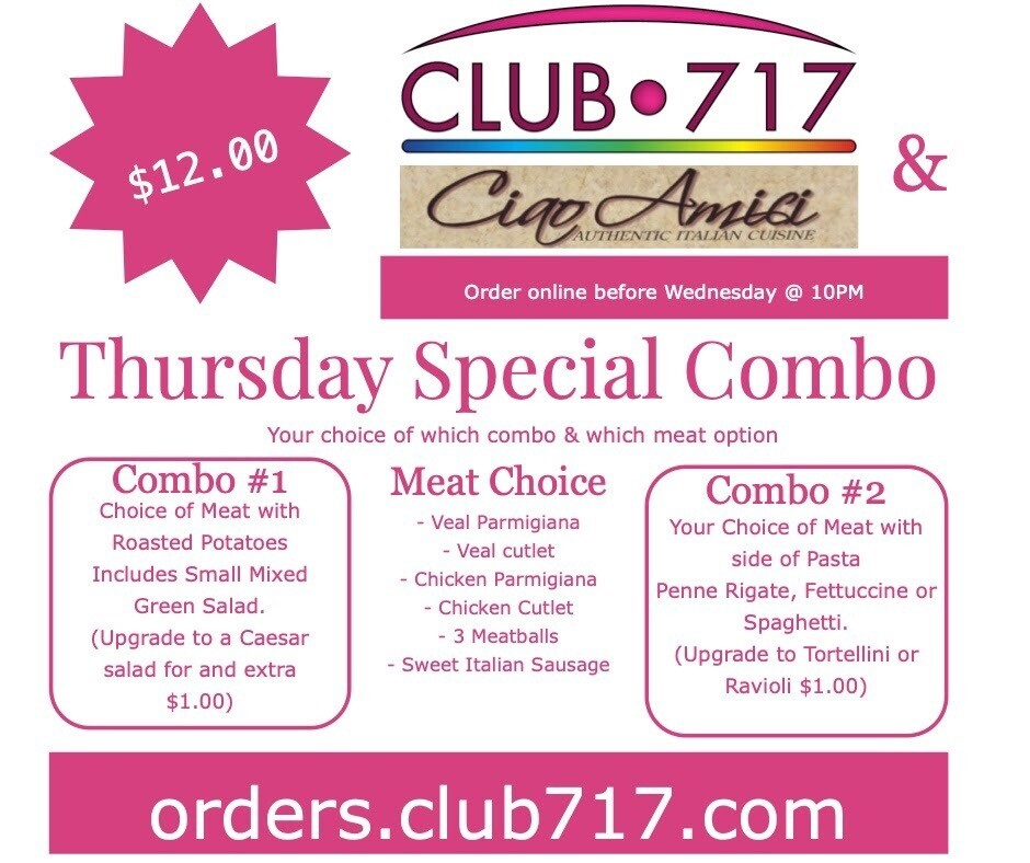 Thursday - Combo 1