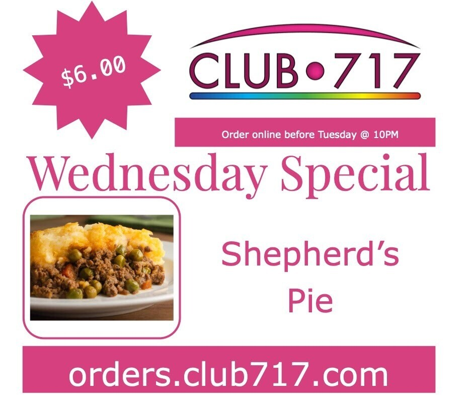 Wednesday - Shepherd's Pie