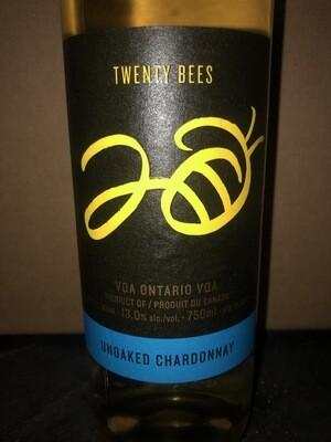 Twenty Bees Unoaked Chardonnay - 750 ml