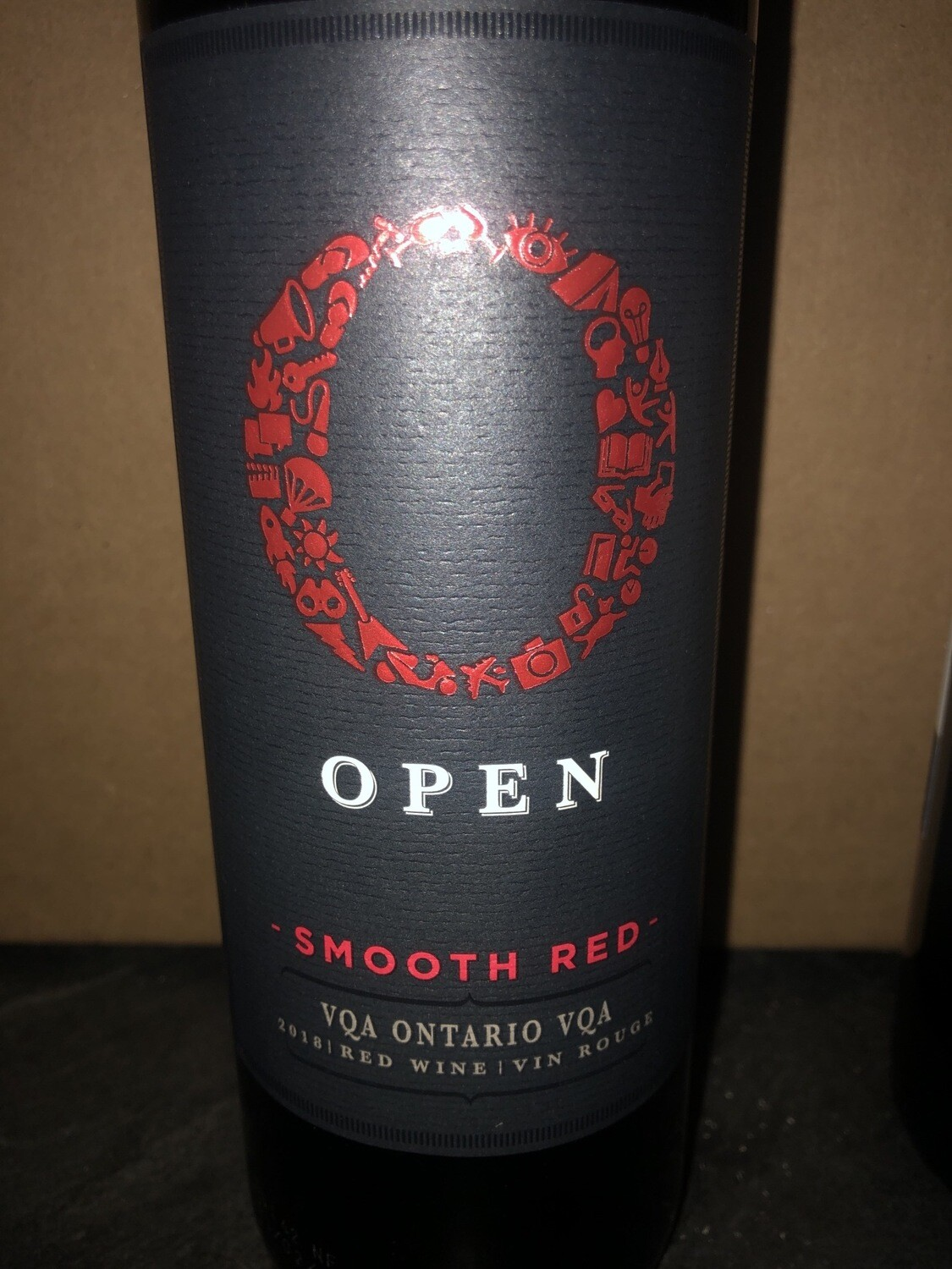 Open Smooth Red - 750 ml