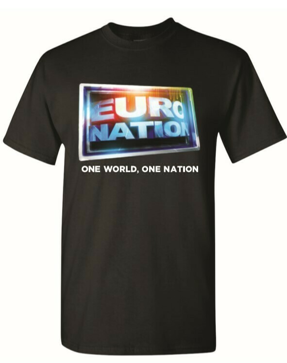 Euro Nation OG Logo Tee - Black