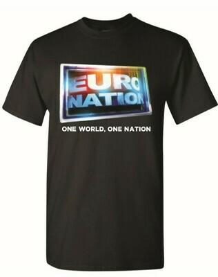 Euro Nation OG Logo Tee - Black