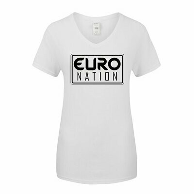 EN Women's V-Neck T-Shirt