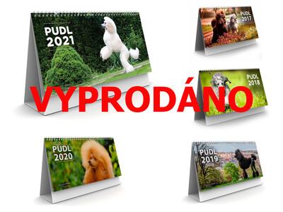 VYPRODÁNO Stolní kalendář PUDL 2021