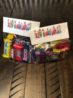 Personalized Treat Bag Toppers