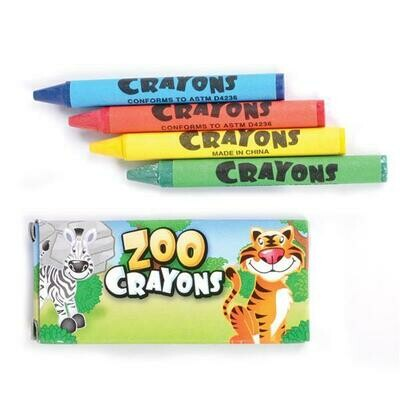 Zoo Crayons