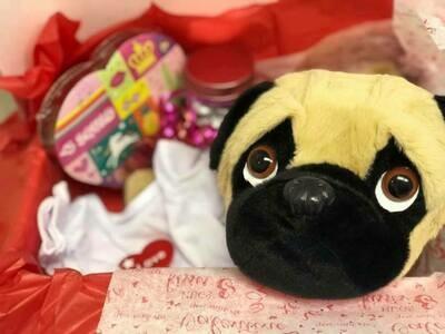 Valentine Stuff A Bear Box