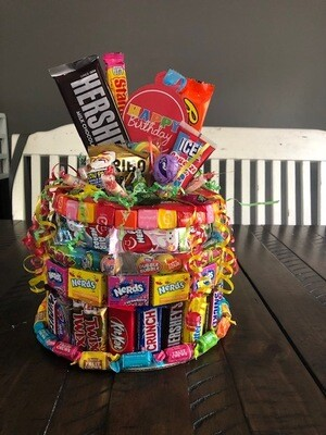 Small Candy Cake