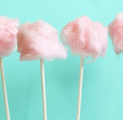 Cotton Candy Cake Pops