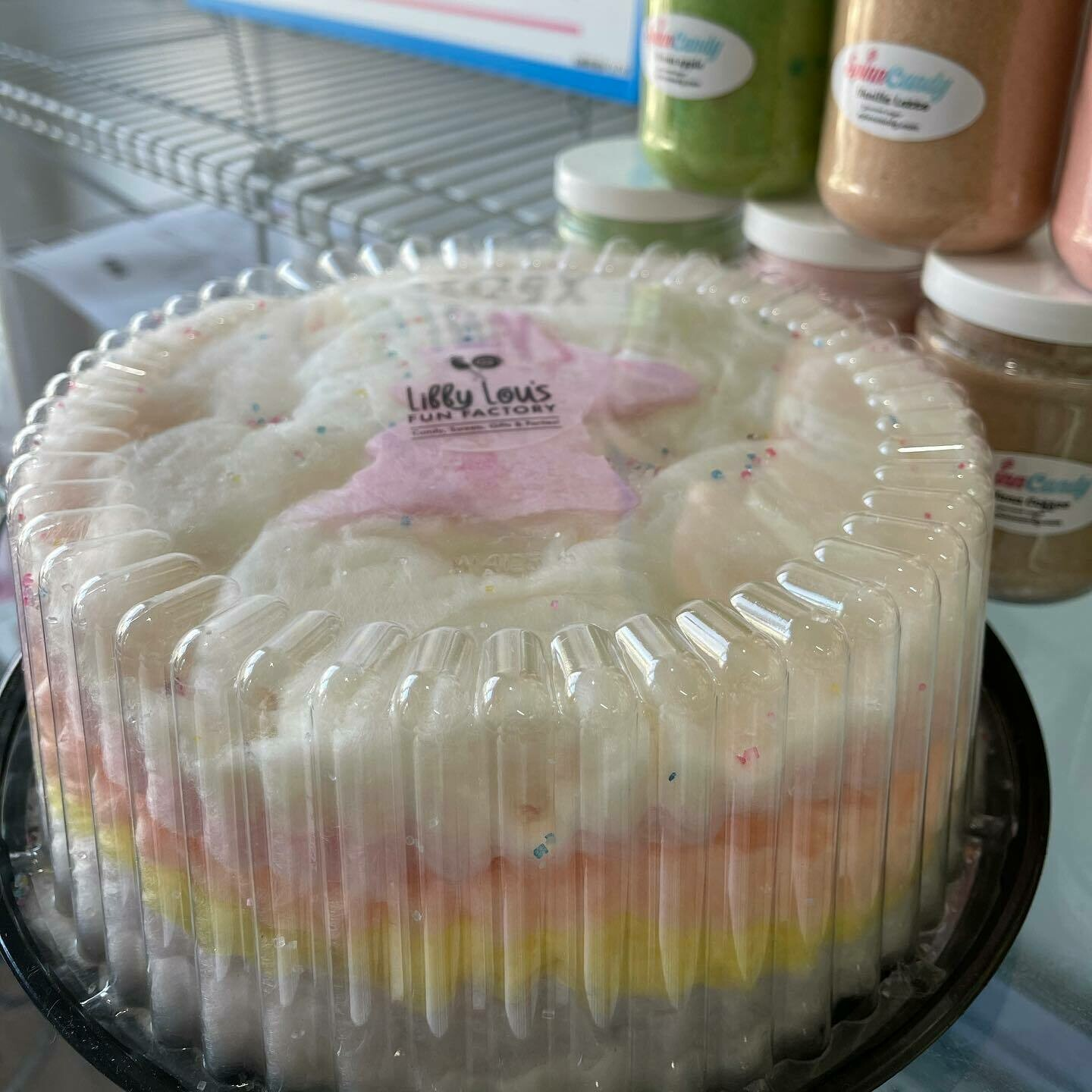 Cotton Candy Cake - 10' Pick your flavors