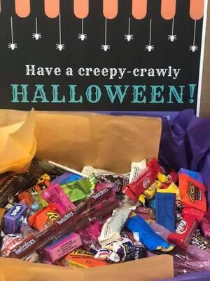 Halloween Scare & Share Candy Box