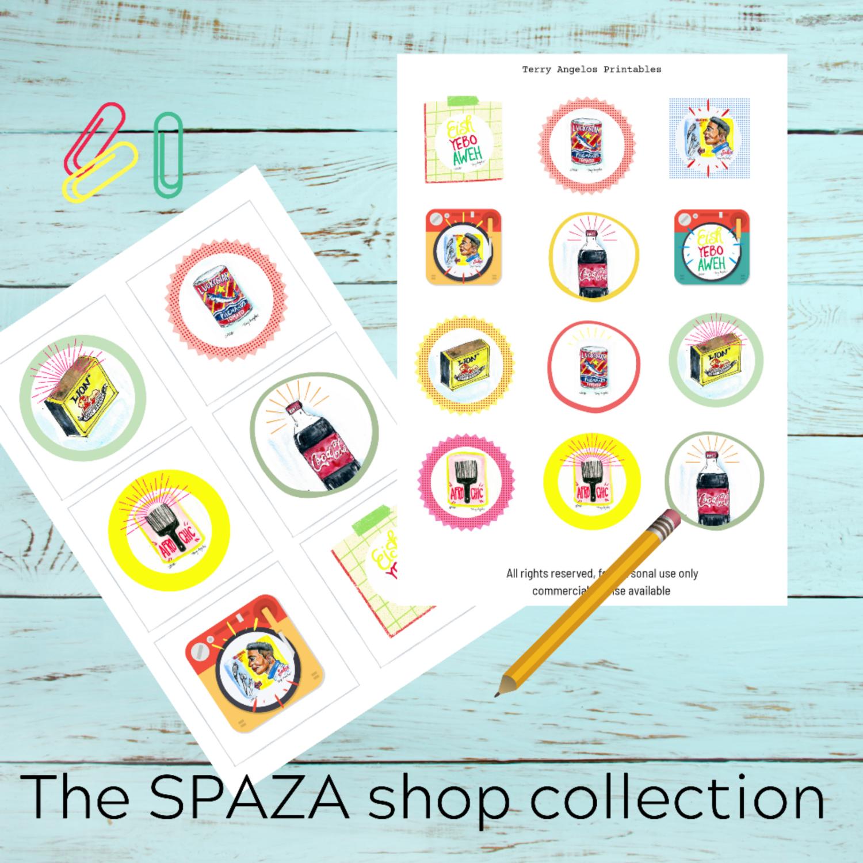 The SPAZA shop collection