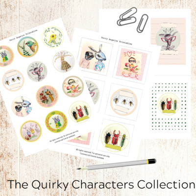 Quirky Characters Collection