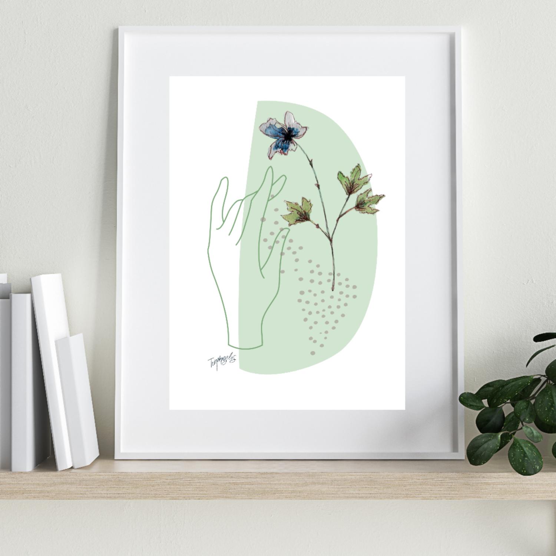 Hope Digital Art Print A4