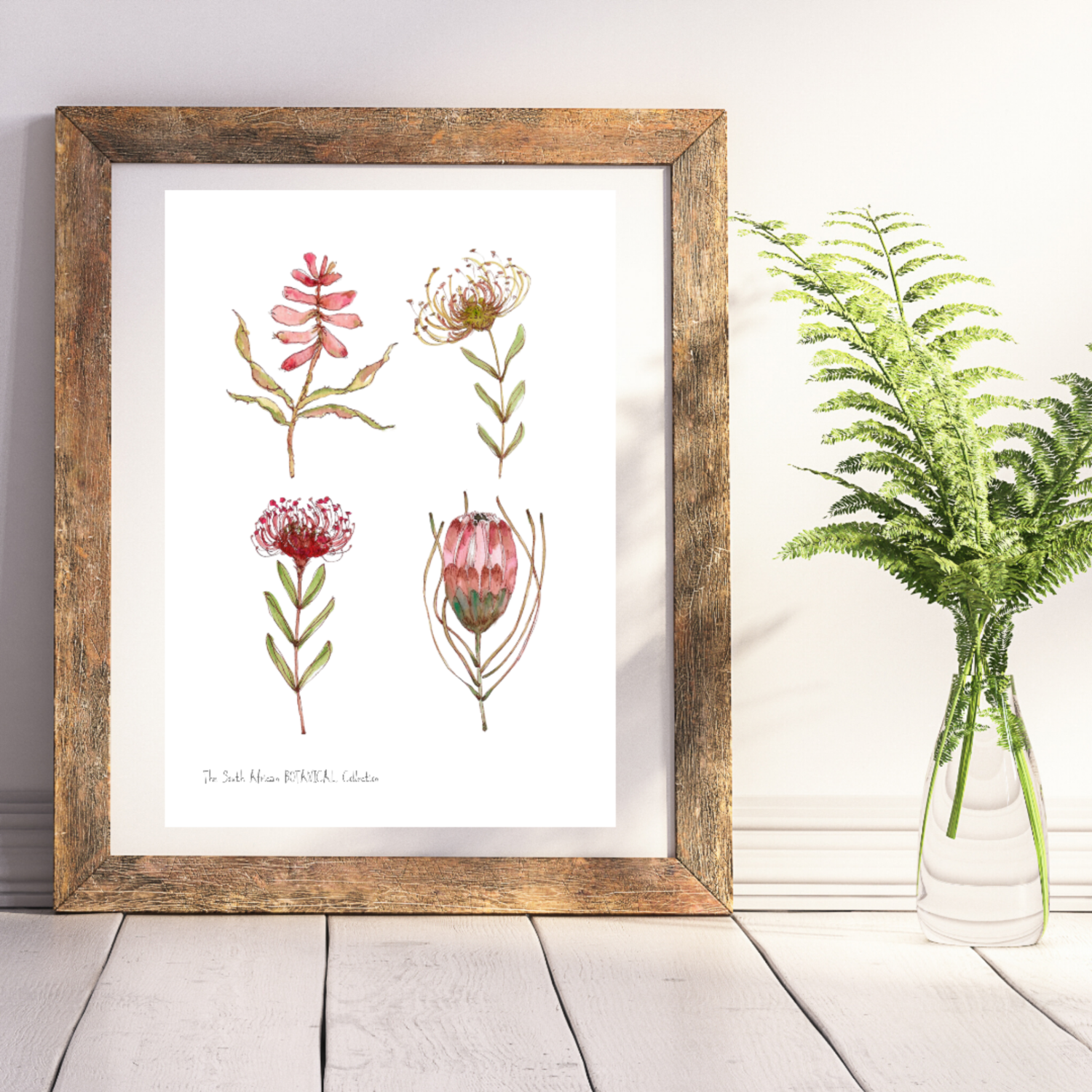 BOTANICAL Collection on white