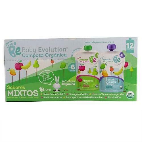 Baby Evolution Organic Baby Food 12 Units