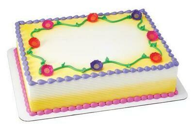 Member's Selection. Vanilla Sheet Cake - Large