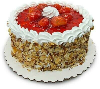 Member's Selection Strawberry and Cream Cake