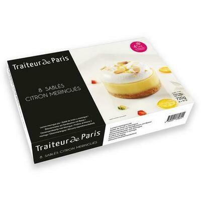 Traiteur de Paris Lemon Meringue Cakes, 8 Units / 90 g / 3.1 oz