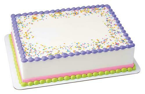 Member's Selection. Vanilla Cake - Medium