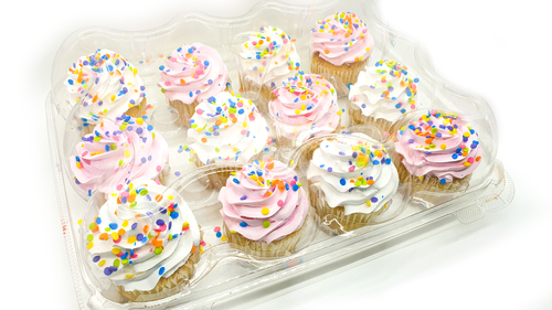 Member's Selection. Variety Cup Cakes 12CT - Vanilla & Chocolate